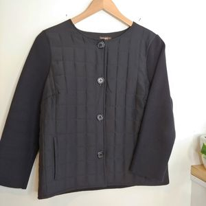 J. McLaughlin Silk Sweater Jacket